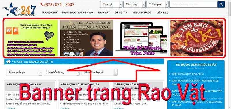 Quảng Cáo Online Tre247