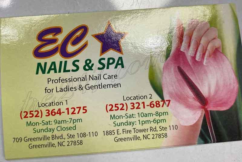 Cần Nhiều Thợ Nails Ở Greenville  North Carolina