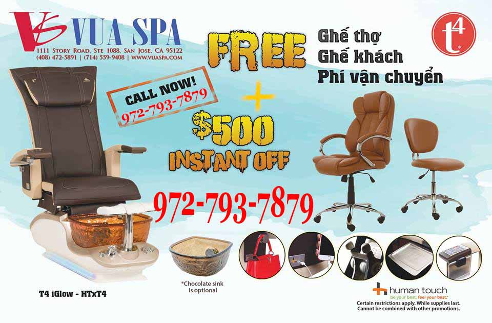 Pedicure Chairs T4 Spa