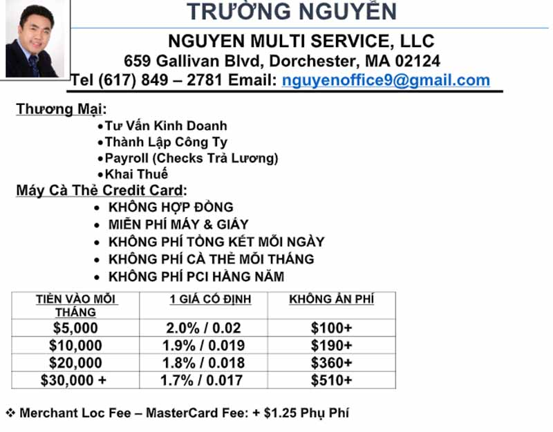 Nguyen Multi Service LLC