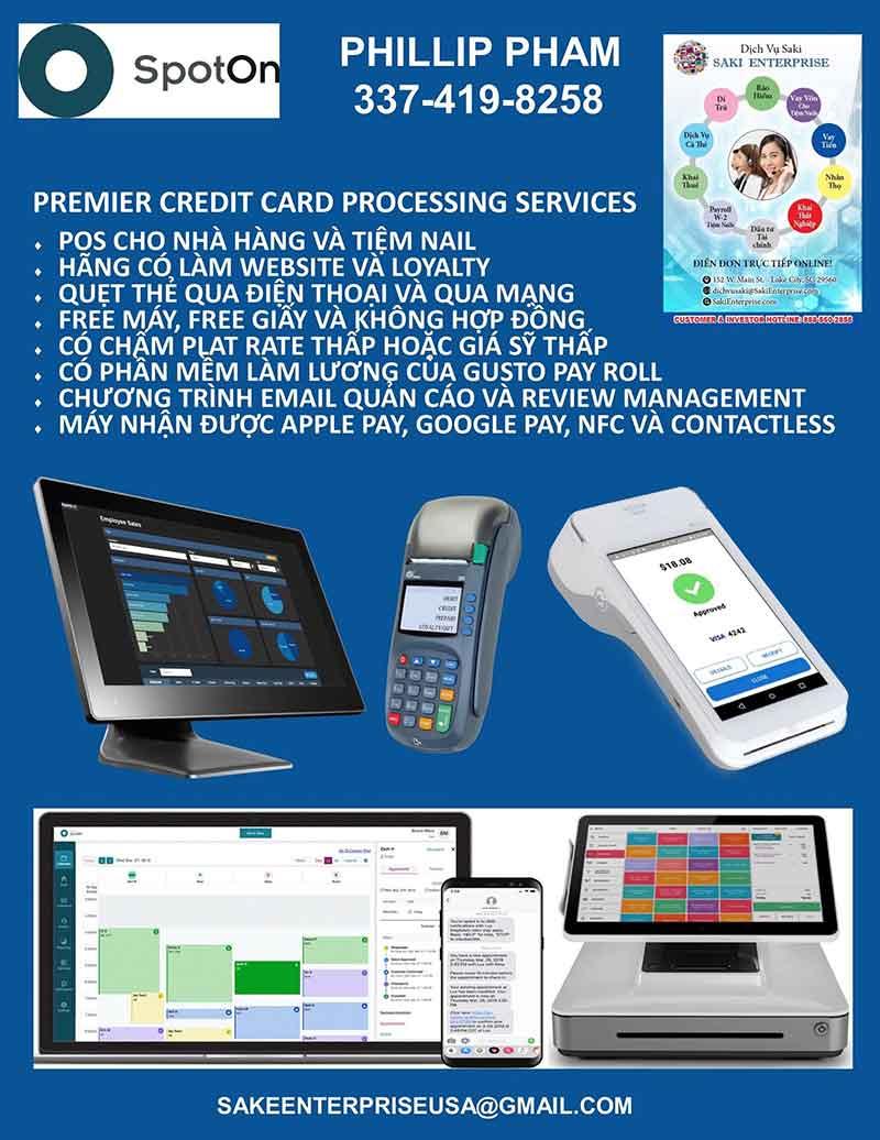 Saki Merchant Services