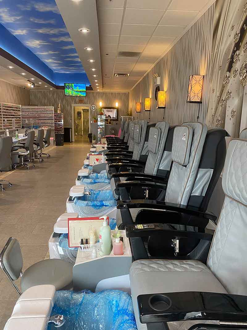 Sang Gấp Tiệm Nail Đẹp Mới Remodel In Nashville Tennessee