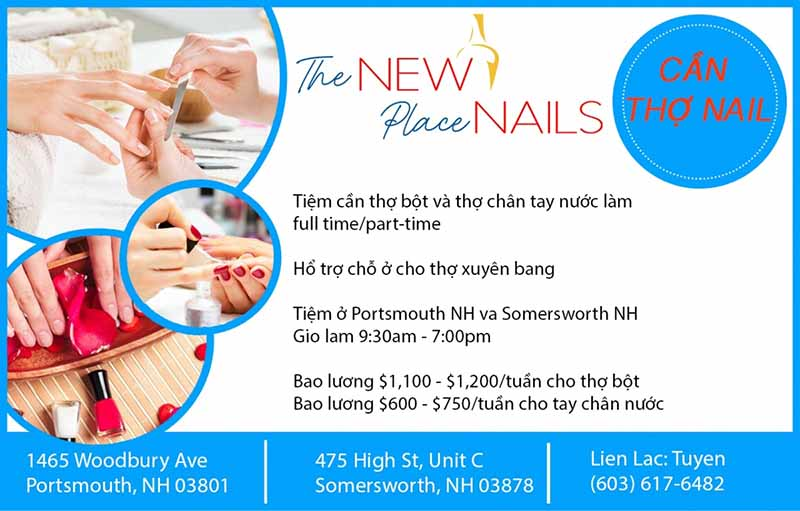 Cần Thợ Nails In Portsmouth NH