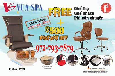 Pedicure Chairs T4 Spa Promotion HOT 2018